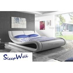 ENGEL - łóżko tapicerowane 180x200