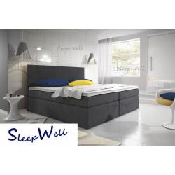MEA - łóżko tapicerowane 140x200